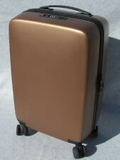 """Raden 'The A22' Wheeled Smart 22"""" Carry On Suitcase Matte Bronze"""