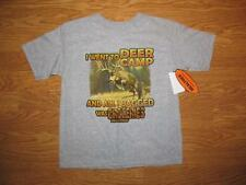 NWT Boys REALTREE Deer Camp T-shirt  Size 7 Real Tree Attitude