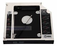 New SATA 2nd Hard Drive HDD SSD Caddy For HP EliteBook 6930p 8440p 8530p 8540p