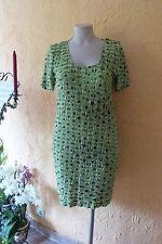 WILLI`S Damen Stretch Kleid Gr. 40 NEU grün Rundum-Volants SAHNESTÜCK!