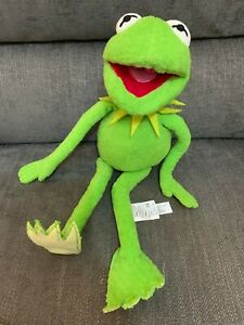 """Disney Store The Muppets Show Kermit The Frog Soft Plush Toy 17"""""""