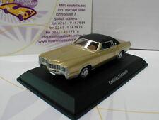 """Best of Show 87186 # Cadillac Eldorado año de fabricación 1959 en """"Gold-negro"""" 1:87"""