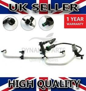 FOR FORD FOCUS MK2 MONDEO MK4 1.8 TDCI LEAK OFF FUEL PIPE WITH SENSOR