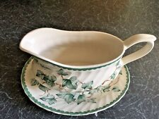 BHS Country Vine PATTERN Pottery COLLECTION Grigio & Plate