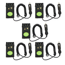 5X Car Radio Battery Eliminator Adapter for Wouxun KG-UVD1P/KG-659/KG679/KG-UV6D