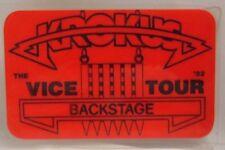 Krokus - Vintage Original Laminate Tour Concert Backstage Pass *Last One*