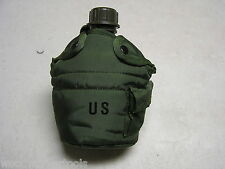 *Military Quart Canteen With Cover & 2 Alice Clips One Quart Ideal Camping Item