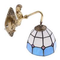 Lampada Da Parete E27 Per Applique Da Parete In Vetro E Hardware Verde, Blu,