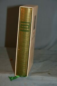 livre collection la pléiade Homère Iliade et Odyssée