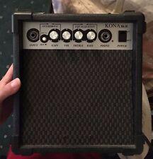 Kona 10-Watt Electric Guitar Practice Amplifier Power Amp with Overdrive