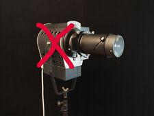 Für Hensel, Elinchrom etc. Flooder, Stufenlinsen spot mit Hintergrund Projektion