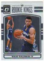 2016-17 Donruss Optic Basketball Rookie Kings #14 Wade Baldwin IV Grizzlies