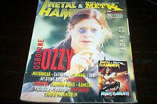 METAL HAMMER MAGAZINE 11/1996 OZZY MOTORHEAD