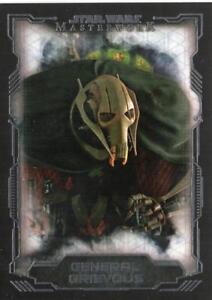 2016 Star Wars Masterwork - Base Card - 30 - General Grievous NM