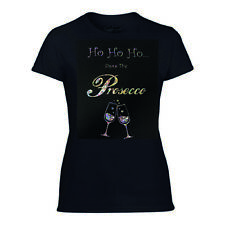 SPARKLY PROSECCO CHRISTMAS T SHIRT - PROSECCO CHRISTMAS JUMPER, SNOWFLAKE VINYL