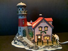 Department 56 New England Village Series 1994 Pigeonhead Lighthouse Retired