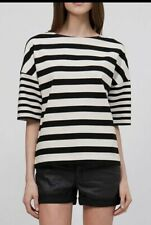 Country Road Parisian-Chic Stripe Top Size XL