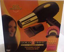 Gold 'N Hot 1875-Watt Professional Ionic Tourmaline Dryer 2 Speed 6 Heat Setting