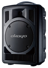 QTX Qr12pa Portable PA System With Wireless Handheld Microphones Battery Powere