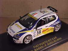Ixo 1/43 Diecast Fiat S1600 Punto Kit Car, 2001 Rallye Catalunya, #56  #RAM018