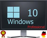 Microsoft Windows 10 Pro Vollversion 32 & 64 Bit Product-Key Lizenzschlüssel