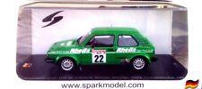 Volkswagen Golf Gti Gr2 N°22 1er Champ. d'Allemagne des Rallye 1981 1/43 Spark