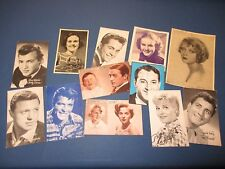 VINTAGE 1940'S Movie and Music Pictures. 50 Cards. Elvis..