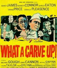 What A Carve Up DVD. Sid James, Kenneth Conner, Shirley Eaton, Donald Pleasence.