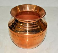 1500 ML Pure Copper Lota Kalash Matka Copper Water Container