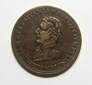Half Penny Token 1812 Wellington Peninsular token to Madrid Canadian provinces