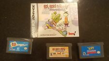 GBA lot of Games- I Spy/Mucha Lucha/ Ed Ed Eddy For Game Boy Advance