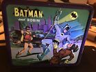 Batman and Robin metal lunchbox Aladdin 1966 with thermos fantastic condition