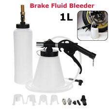 1L Brake Oil Fluid Bleeder Air Extractor Kit Clutch Vacuum Bleeding Fill Bottle