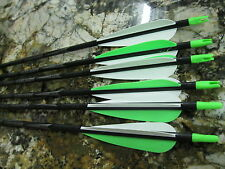 (6 ) Carbon Storm 500  40/55    400  50/65  or 340  60/75   Arrows 4inch Vanes