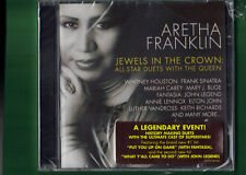 ARETHA FRANKLIN-JEWELS IN THE CROWN ALL STAR DUETS WITH QUEEN CD NUOVO SIGILLATO
