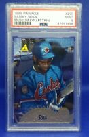 Sammy Sosa 1995 Pinnacle Museum Collection #230 PSA 9 Mint Low Pop Chicago Cubs