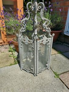 LARGE ANTIQUE STYLE FRENCH ROCOCO STYLE LANTERN