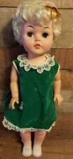 """Vintage Eegee Goldberg Strolling Susan Walking Doll 23"""" 1961 Blonde"""