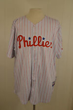 Majestic Philadelphia Phillies Jersey #33 Cliff Lee MLB Adult Size 54 White Sewn