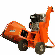 6.5hp Petrol Wood Chipper Shredder Mulcher by Forest Master Timber LCT 4 Stroke