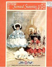 Scented Sweeties 2 Crochet Air Freshener Doll Dresses Fibre Craft Leaflet FCM352