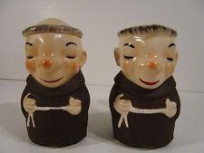 Unmarked  Monk  Creamer and  Sugar  Goebel  look-alike