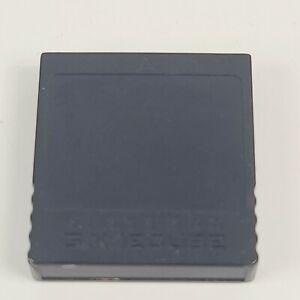 Official Genuine OEM Nintendo Gamecube Memory Card 251 Blocks Black DOL-014