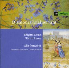 D'AMOURS LOIAL SERVANT - ALLA FRANCESCA , BRIGITTE & GÉRARD LESNE