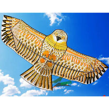 Golden Eagle Kite with Handle Line Children Games Bird weifang Flying Dragon