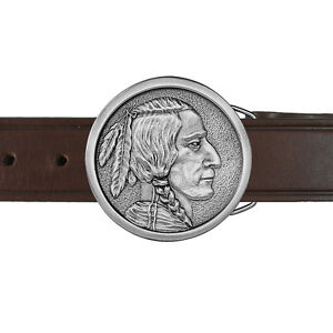 Fraser Indian Profile Buckle and Belt 06-INNIB IMC-Retail