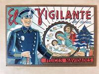 Tarjeta Felicitacion Navidad El Vigilante (5)