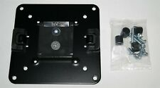 NEW HUMANSCALE M8 M2 BLACK VESA PLATE MOUNT 100MM M-FLEX W/HARDWARE FOR MONITOR