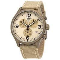 Tissot Beige Dial Men's Chonograph Watch T116.617.37.267.01