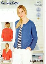Stylecraft  9374- Ladies DK KNITTING PATTERN -2 Designs-not the finished items